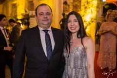 Moacir Sá e Camila Martins
