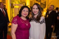 Nailde e Cecília Pinheiro
