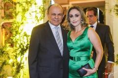 Honório e Karla Pinheiro