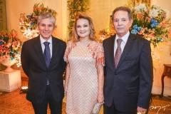 Pádua Lopes, Lenise e Cláudio Rocha