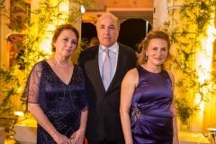 Paula Frota, Sílvio Frota e Renata Jereissati