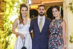 Paulinha Sampaio, Felipe Queiroz Rocha e Marília Queiroz Machado
