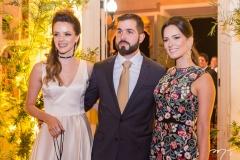 Paulinha Sampaio, Felipe Rocha Queiroz e Marília Queiroz Machado