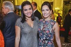 Priscila Leal e Marília Queiroz Machado