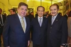 Raul Araújo, João Batista Fujita e Mauro Benevides