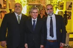 Ricardo Diogo, Pádua Lopes e Karim Aïnouz