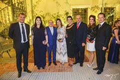 Ricardo Nibon, Sellene Câmara, Roberto Cláudio, Carol Bezerra, Márcia e Fernando Travessoni, Eveline e Lisandro Fujita