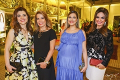 Rilka Bezerra, Maira Silva, Camila Borges e Eveline Fujita