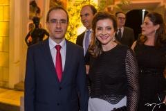 Sérgio Resende e Emília Buarque