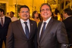 Valdetário Monteiro e Ricardo Bacelar
