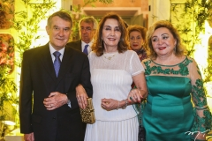 Valmir e Marizalva Campelo, com Wilma Patrício