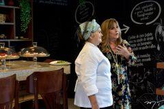 Ritelza Cabral e chef Nilza Mendonça