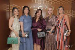Carla Nogueira, Claudia Gradvohl, Martinha Assunção, Sandra Fujita e Laila Fujita