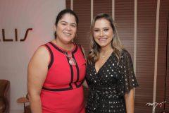Caroline Freitas e Talyzie Mihaliuc
