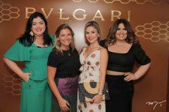 Viviane Barreto, Vanessa Queiroz, Roberta Quaranta e Montiele Arruda