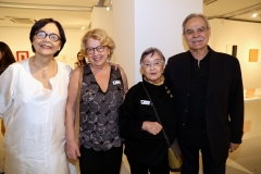Dodora Guimaraes, Ana Maria Belluzzo, Aracy Amaral e Max Perlingeiro