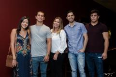 Gabriela Figueiredo, Fernando Travessoni, Tetê Figueiredo, Pedro Bentes e Ronaldo Ventura