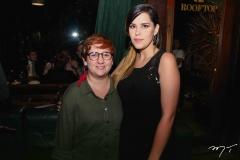 Azuhli e Natália Teixeira