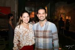 Caroline Alencar e Felipe Monteiro