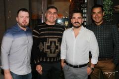 César Martins, Luciano Vidal, Miguel Dias e Nonato Barreto