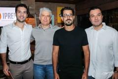 Guilherme Albuquerque, Leonardo Leal, Felipe Lima e Douglas Albuquerque