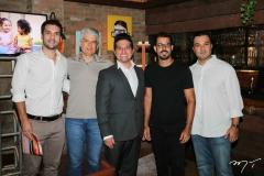 Guilherme Albuquerque, Leonardo Leal, Pipo, Felipe Lima e Douglas Albuquerque