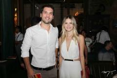 Guilherme Albuquerque e Rayana Araújo