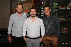 Igor Brito, Miguel Dias e Nonato Barreto