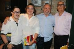 Norton Lima, Sandra Amorim, Vando Figueiredo e Francisco Diogo