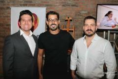 Pipo, Felipe Lima e Miguel Dias