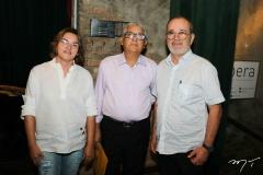 Sandra Amorim, Francisco Diogo e Ediel Pimentel
