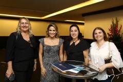Cristiane Veloso, Talita Pinheiro, Márcia Castro e Vanessa Farias