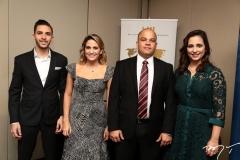 Luan Almeida, Talita Pinheiro, Flávio Braga e Gabriela Demelo
