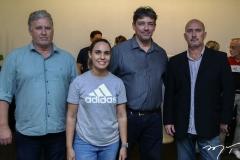 Luiz Roberto, Naira Felipe, Pedro Eduardo e Leandro Moreira