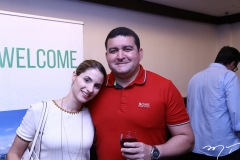 Raquel Tiburcio e Aloísio Aragão
