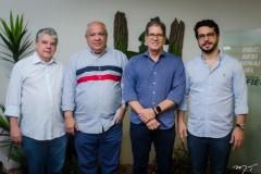 Chico Esteves, Pedro Alfredo, Severino Ramalho Neto e Rafael Fujita