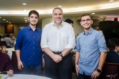 Germano Belchior, Edson Ferreira e David Sales