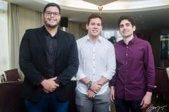 Pedro Holanda, Neil Alden e Guilherme Sabadia