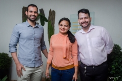 Rafael Facundo, Mabel Chaves e Pedro Felipe