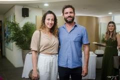 Sasha Rivers e Raul Lira