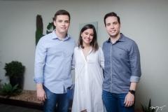 Tiago Madeira, Rebeca Teixeira e Pedro Gregori