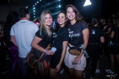 Mara Nogueira, Márcia Cabral e Priscila Leão