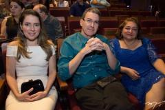 Águeda Muniz, Geraldo Luciano e Maria Vital