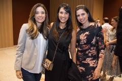 Ana Cecília Vasconcelos, Lia Quinderé e Luciana Macedo