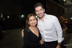 Etel Rios e Paulo Benevides