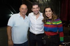 Fernando Travessoni, Paulo-Benevides e Márcia Travessoni