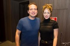 Humberto Cavalcante e Raquel Macedo