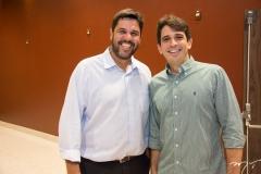 João Marcelo e Maurício Targino