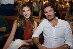 Karolina Stockloew e Marcelo Quinderé