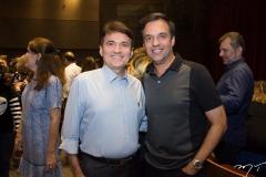 Lúcio Pimentel e Fernando Novais